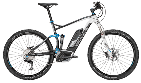 2016 BULLS SIX50 E Full Suspension 3 RSI Electric Mountain Bike