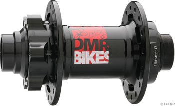DMR Convertible Front Hub 20mm 36H Black