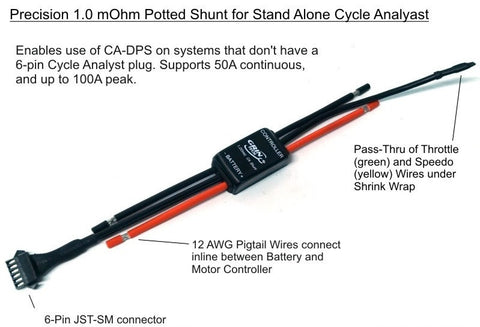 Cycle Analyst Shunt Adapter
