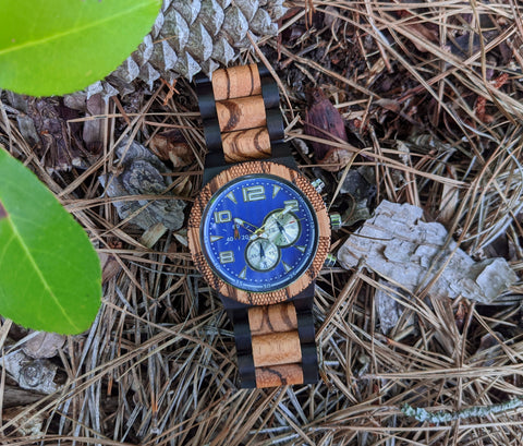 wooden watch, engraved wood watch, personalized wooden watch