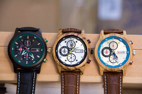 wooden watches for dad, engraved watches for him