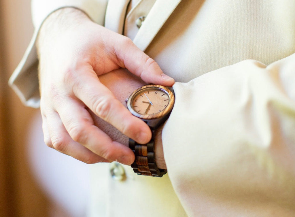 perfect gift wooden watch for men
