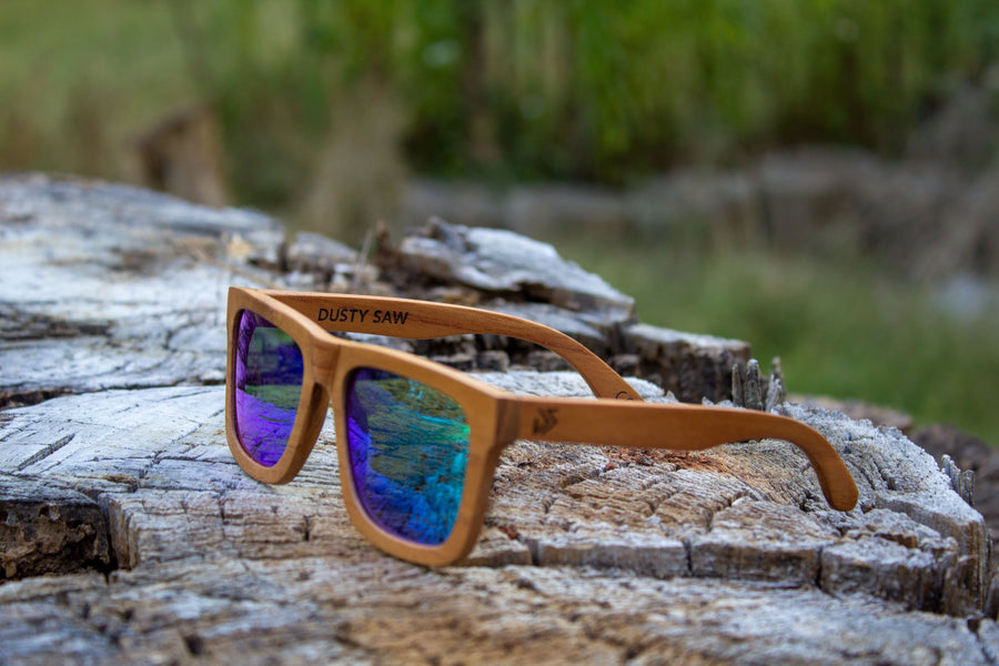 Wooden Sunglasses | Super - Dusty Saw