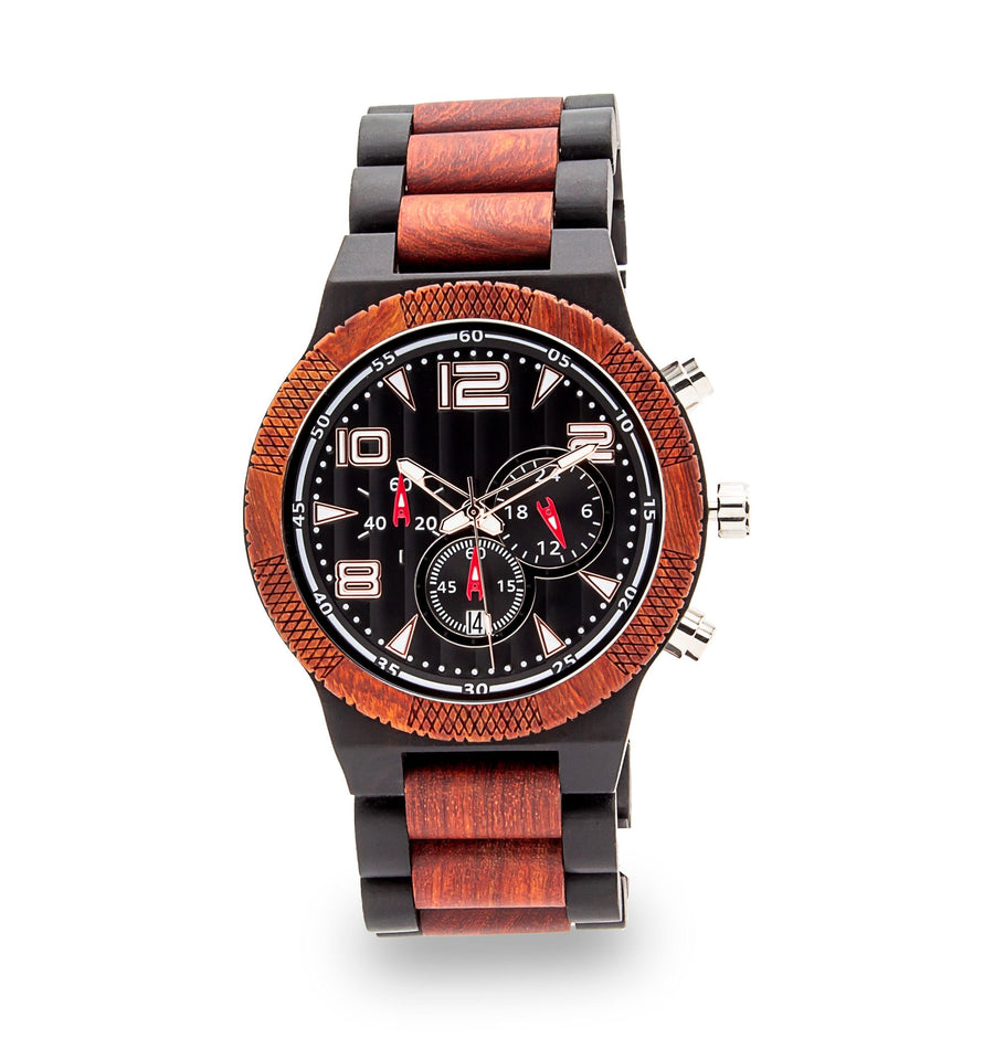 Wooden Watch | Perfecto - Dusty Saw