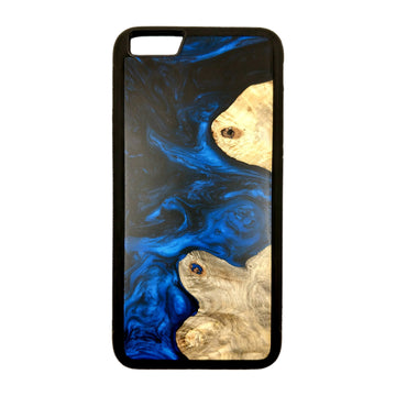 Carved Phone Cases iPhone 6 Plus / Blue Satellite Blue Case For iPhone