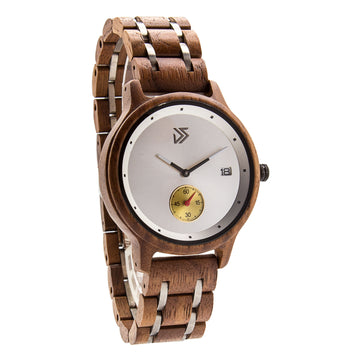 Wooden Watch Walnut | Contento