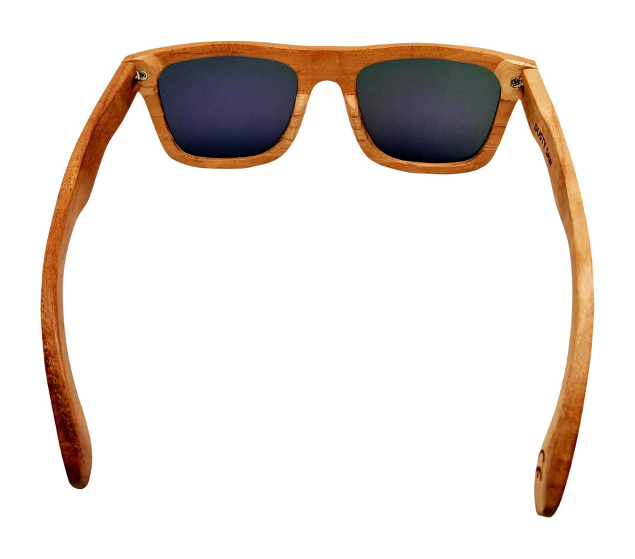 The Dusty Saw Wooden Sunglasses Wooden Sunglasses - Super