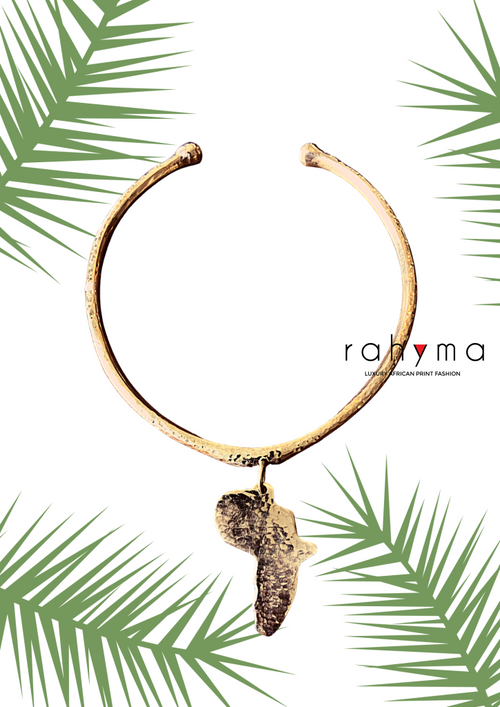 Africa Patterned Necklace - Rahyma