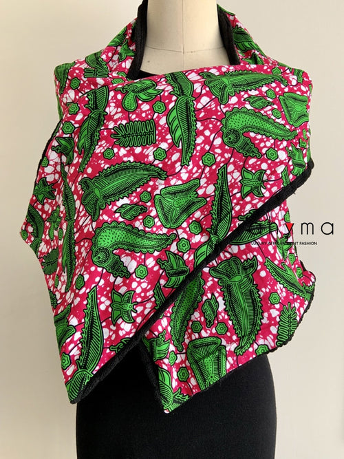 African Print Winter scarf-Joan - Rahyma