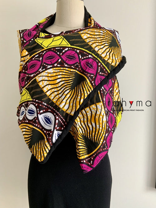 African Print Winter scarf-Olivia - Rahyma