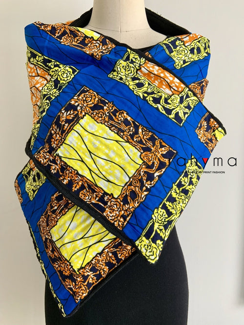 African Print Winter scarf-vic - Rahyma