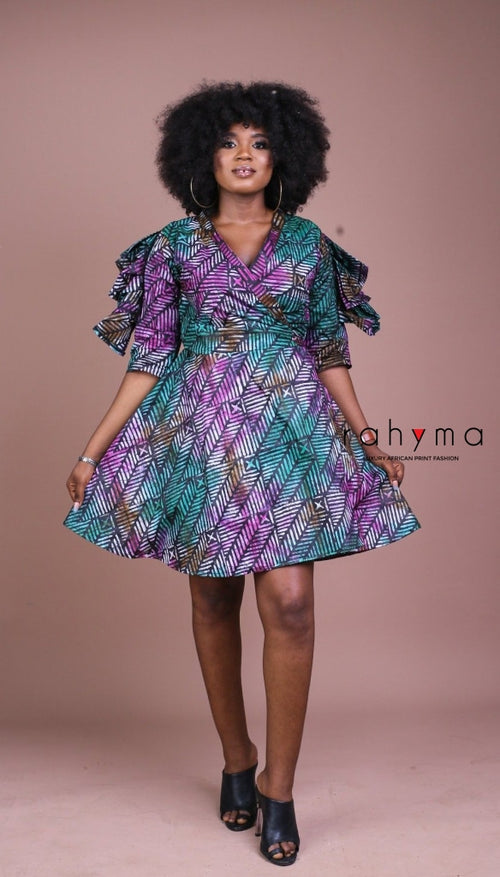 Aziza Wrap Dress - Rahyma