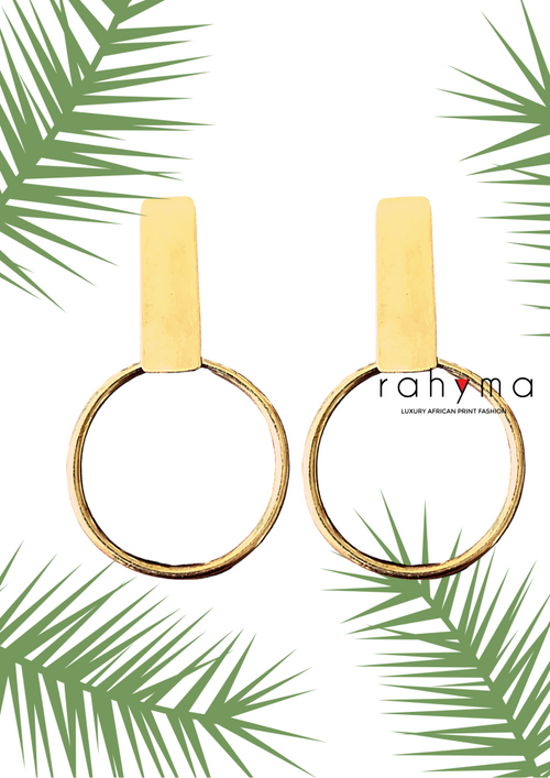 Brass Earrings - Rahyma