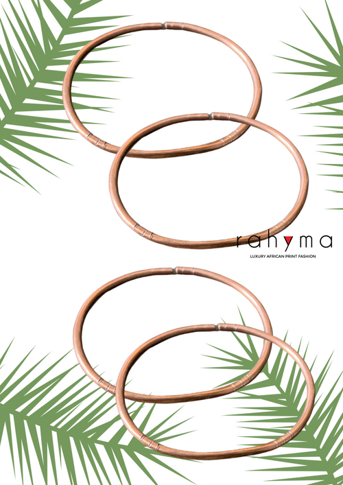 Four Taza Copper Bracelets - Rahyma
