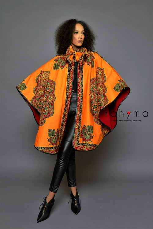 Kezi Yellow Poncho - Rahyma