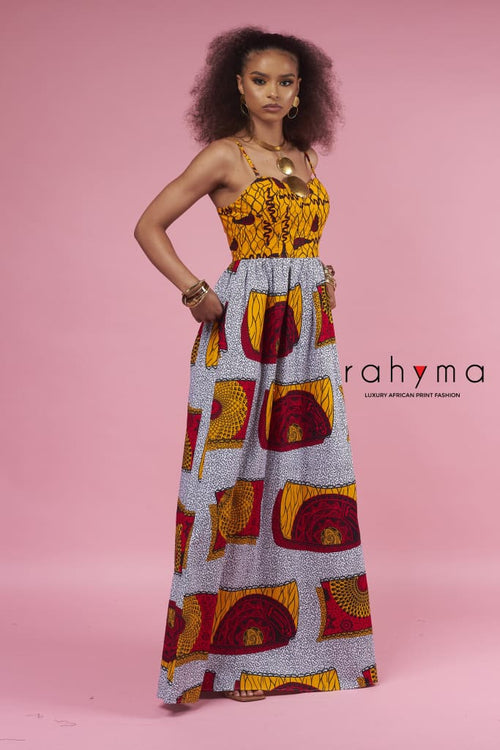 Rahyma Cleo Bustier Maxi Dress - Rahyma