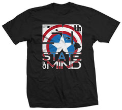 "50th State of Mind ""Captain America"" Men's T-Shirt"