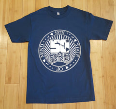 "50th State of Mind ""50th Seal"" Mens T-Shirt"