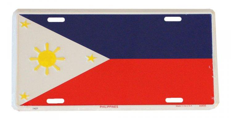 Philippines License Plate - Leilanis Attic