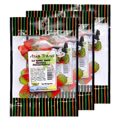 Li Hing Mui Gummy Strawberries 3oz