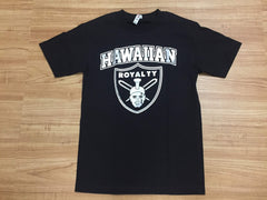 "Hawaiian Royalty ""Pakaha Wale"" Men's Black T-Shirt"