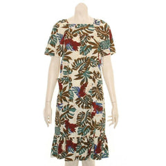 "Hilo Hattie Womens ""Red Ginger"" Sweet Home Dress"