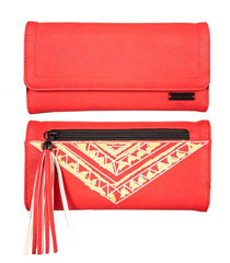 "Hinano ""Nalu"" Red Wallet"