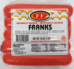 Franks Red Hot Dogs (Shipped Price)