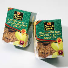 Hawaii Candy Macadamia Nut Chocolate Chip Cookies, 5 oz.