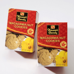 Hawaii Candy Macadamia Nut Cookies, 5 oz.