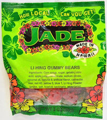 Jade LI HING GUMMY BEARS 3oz