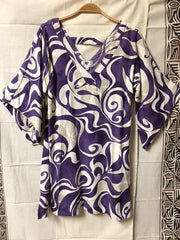 "Island Edge Designs ""Mehgan"" Women's Purple Dress"