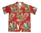 KY's Red with Parrots Boys Hawaiian Shirt - Leilanis Attic