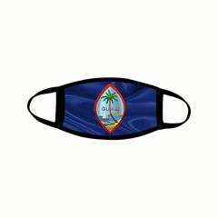 Guam Seal Flag Mask