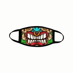 Tiki Mouth Mask