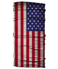 USA Flag Neck Gaiter, Pullover mask
