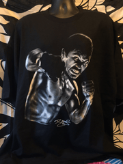 Pacquiao Flex Men's Black T-Shirt
