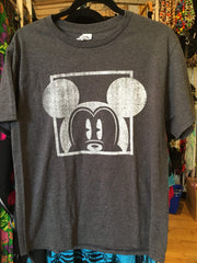 Mickey Window Men's Grey T-Shirt