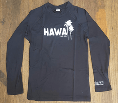 Local Motion Long Sleeve Black Jr's Rashguard