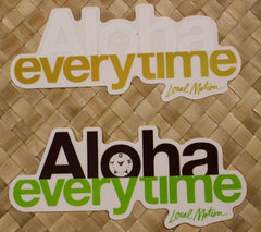 "Local Motion ""Aloha Everytime"" Decal Sticker"