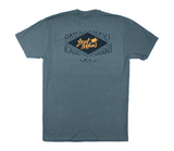 "Local Motion ""Diamond Isle"" Mens Indigo T-Shirt - Leilanis Attic"