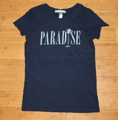 "Local Motion ""Paradise Palms"" Jrs Vintage Tee"