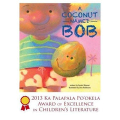 """A Coconut Named Bob"" Children's Book (Hardcover) - Leilanis Attic"