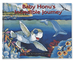 """Baby Honu's Incredible Journey"" Children's Book (Hard Cover) - Leilanis Attic"
