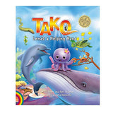 """Tako Lends a Helping Hand"" Children's Book (Hardcover) - Leilanis Attic"