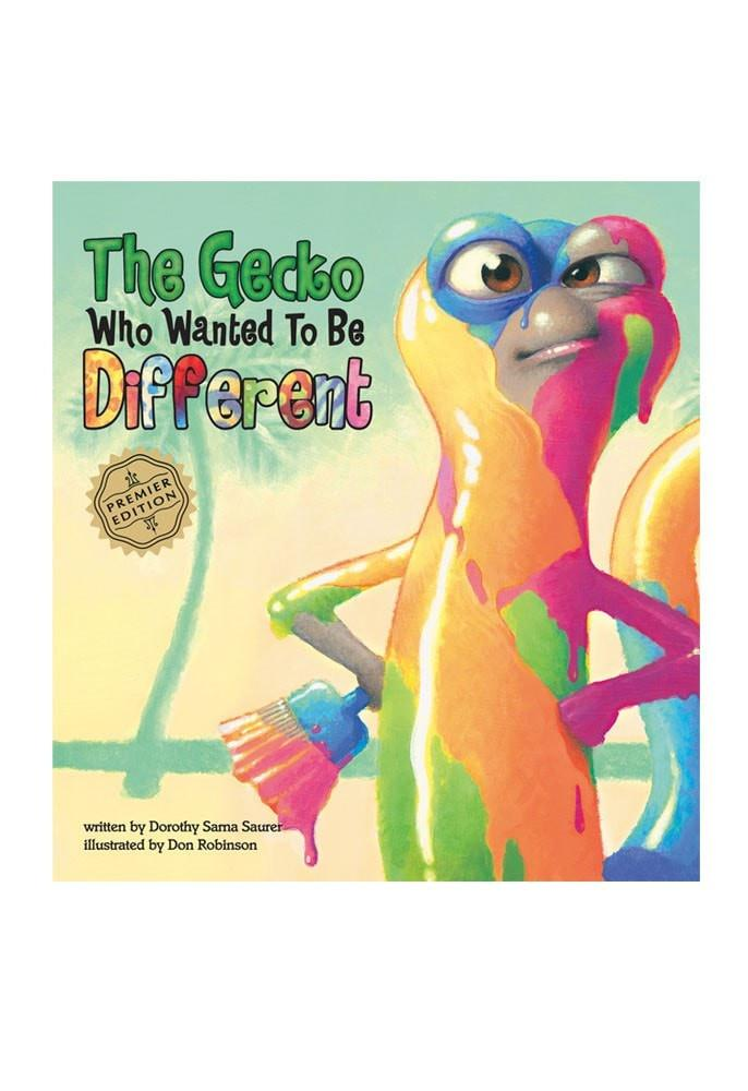 """The Gecko Who Wanted To Be Different"" Children's Book (Hard cover) - Leilanis Attic"