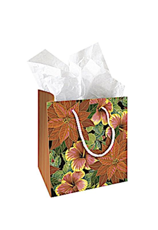 "Gift Bag ""Festive Hibiscus"", Small - Leilanis Attic"