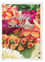 """Beautiful Hawaiian Leis"" Greeting Card"