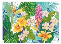 "Greeting Card ""Island Blossom"""