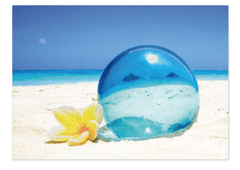 "Greeting Card ""Lanikai Ball"""